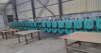 钢带烤蓝加热设备生产线