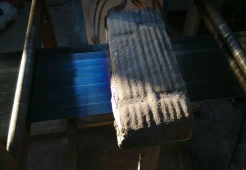 0.9x32钢带烤蓝生产线