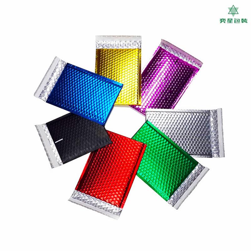 镀铝膜气泡袋 汽泡信封袋 服装电子工艺品包装袋